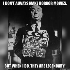 Alfred Hitchcock #Horror