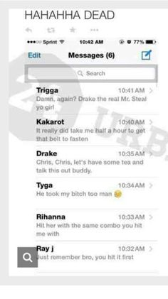 Chris brown's messages Wanna see more? Follow me  Pinterest : @theylovecyn_