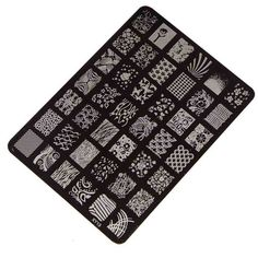 Best Deal Good Quality Nail Stamping Printing Plate Manicure Nail Art Decor Image Stamps Plate for Women Lady Beauty 1set