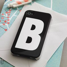 initial case for iphone by alphabet bags | notonthehighstreet.com