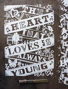 Paper cutting by Julene Harrison