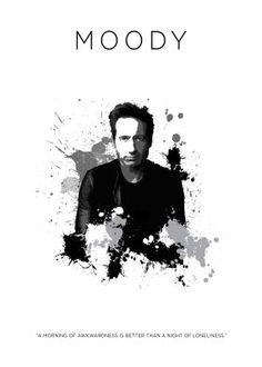 Metal Displate Poster Hank Moody