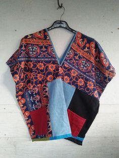 varisa thai-esan fabrics Kimono Top, Fabrics, Boho, Blouse, Women, Fashion, Tejidos, Moda, Fashion Styles