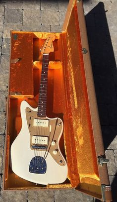 '59 Blonde RI Fender Jazzmaster Thin skin w/ Mastery   Reverb