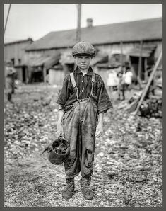 Child laborer, early 1900s