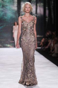 Gorgeous Badgley Mishka gown from NYFW - just waiting for the right occasion to wear this