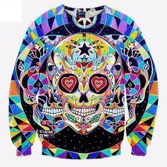 Triple Skull Sweatshirt