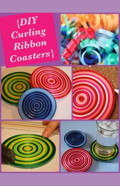 Image result for curling ribbon crafts