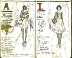 Sketchbook Project: Magazine style
