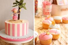 Pirate Princess cake and cupcakes | Visit our blog for more … | Flickr