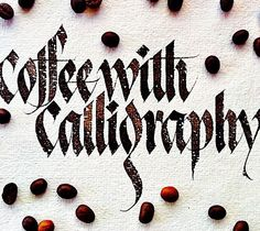 The best blend - Coffee with Calligraphy #sachinspiration #calligraphy…