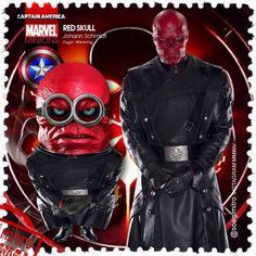 Minion Red Skull