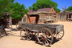 Popular on 500px : Buckboard Wagon at Golondrinas by kchisos