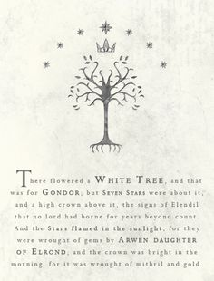 The banner wrought by Arwen for King Elessar