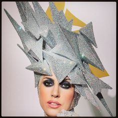 """""""Another philip treacy favourite! Did I mention I love love love lady gaga! """" Photo taken by @blu_rayne_designs on Instagram, pinned via the InstaPin iOS App! http://www.instapinapp.com (06/25/2015)"""