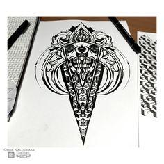 Skull geometry by OrgeSTC.deviantart.com on @DeviantArt