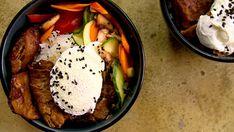 Beef Wellington, Bim Bim Bap, Asian Recipes, Healthy Recipes, Ethnic Recipes, Solution Gourmande, Le Diner, Dessert, Chinese Food