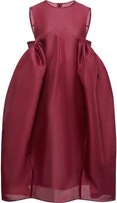 Ellery M'O Exclusive: Existential Silk-Organza Dress