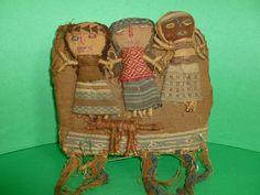 Classic folk art! http://www.bonanza.com/listings/Peruvian-Grave-Dolls-Pre-Columbian-Textile-Fabric-Folk-Art-Circa-1950-1960/105737685