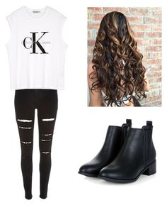"""""""Set#182"""" by anneclo2 on Polyvore featuring mode et Calvin Klein"""