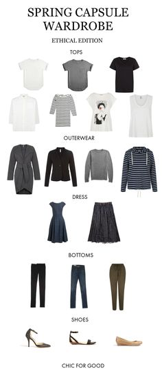 Capsule wardrobes are having a moment. It seems that every fashion-forward woman wants to minimize her life, changing her lifestyle to keep up with her every moving schedule. Keeping a capsule wardrobe certainly makes life easier. I'm not one to be too legalistic when it comes to my wardrobe, but having an artillery of basics makes mornings easier and shopping sprees less necessary. I'm all for that. Do you keep a capsule wardrobe? Has it changed your life? Products below : * T-s...
