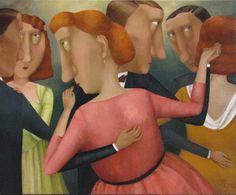 artnet Galleries: Tanzpaare by Olga Filipenko from Galerie Hell