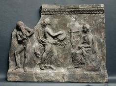 Wall Tile, 1-25                                                Italy, Roman, early 1st Century