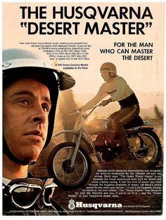 1974 Husqvarna CR450 Malcolm Smith Desert Master