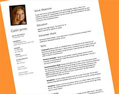 Teenage Resume Template Free Resume Templates For High School Students Babysitting Fast