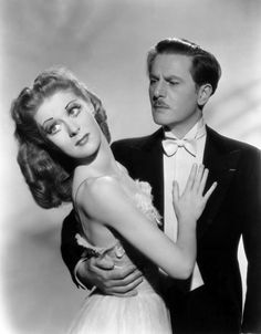 Moira Shearer and Anton Walbrook in a publicity photo for The Red Shoes  (Michael Powell & Emeric Pressburger, 1948)