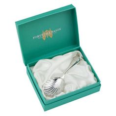 Jubilee Silver Plated Tea Caddy Spoon from Fortnum & Mason.