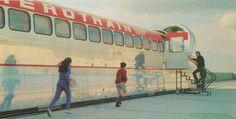 Parmi les inventions qui ont été expérimentées mais jamais commercialisées se trouve l'aérotrain . Celui conçu par l'ingénieur Jean Bertin ...