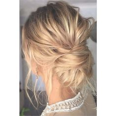 Wedding Hairstyles For Fine Hair ❤ liked on Polyvore featuring beauty products, haircare, hair styling tools and fine hair care