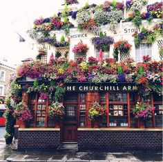 The Churchill Arms // London