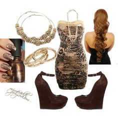 Going to the Club Outfit, created by mz-meredith on Polyvore