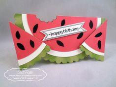 Watermelon Framelit Card