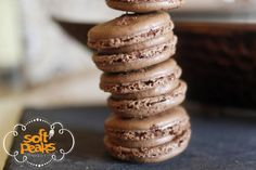 French Macarons  Coffee & Chocolate Lovers by SoftPeaksConfections, $48.00