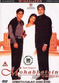 Mohabbatein - Shah Rukh Khan, Aishwarya Rai Bachchan, Amitabh Bachchan #hindimovie