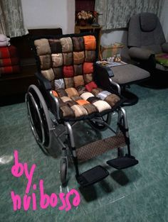 wheelchair puff quilt
