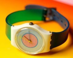 swatch watches...I had a couple in all different colors