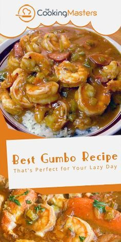 cajun and creole recipes This may be the best gumbo recipe you can ever have in the world. Remember that this recipe uses seafood ingredients for your energy. Creole Recipes, Cajun Recipes, Crockpot Recipes, Cooking Recipes, Crockpot Gumbo Recipe, Haitian Recipes, Donut Recipes, Crock Pot Gumbo, Best Seafood Recipes
