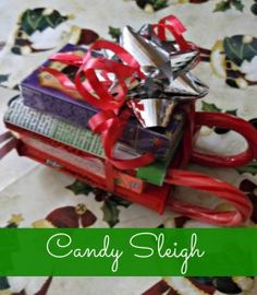 Candy Recipes: Santa Candy Sleigh