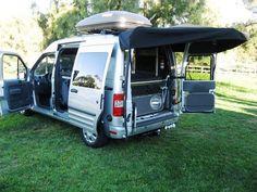 Ford Transit Van #Camping