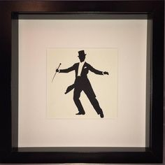 Traditional Paper Cut Silhouette of Ballroom Dancer, Anton Du Beke. Personalized custom design options available from Etsy or our website. #etsy #silhouette #silhouettes #ballroom #traditional #stylish #english #gentleman #framedart #present #gift #ball #ballroomdance #ballroomdancing #dancing #dancer #ballroomdancingcompetition #antondubeke #strictlycomedancing #strictlydancing #strictlyballroom