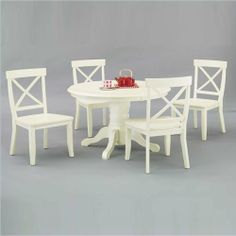 Home kitchen dining room furniture on pinterest for Dining room tables 38 inches wide