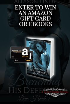 Win a $25 or $10 Amazon Gift Card or eBooks from Bestselling Author Allyson Lindt