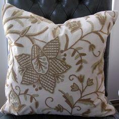 20x20 B. Berger Crewel Pillow