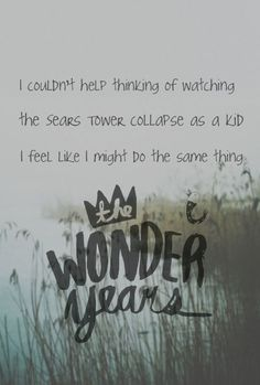 Don't Let Me Cave In by The Wonder Years