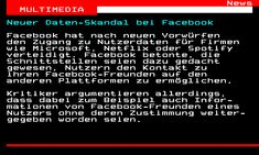 Seite 461.1 - teletext.ORF.at Microsoft, Netflix, Facebook