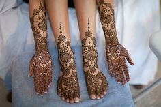 beautiful, intricate mehndi